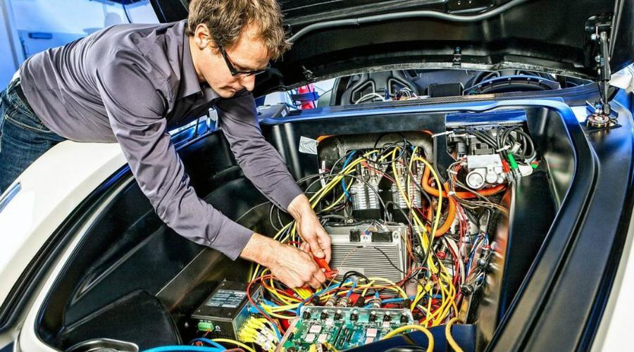 Ремонт электронных систем авто