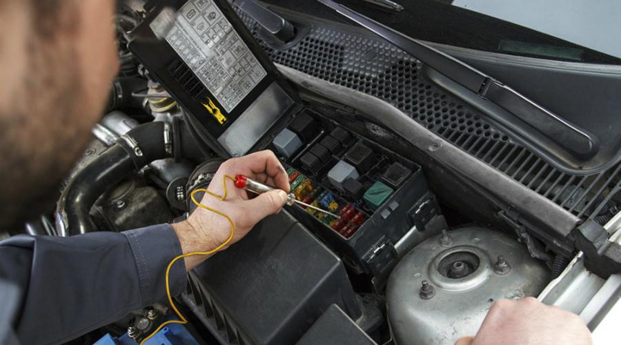 Ремонт электронных систем автомобиля