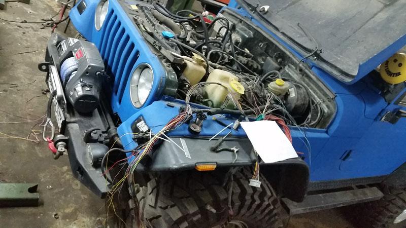 Ремонт электроповодки автомобиля