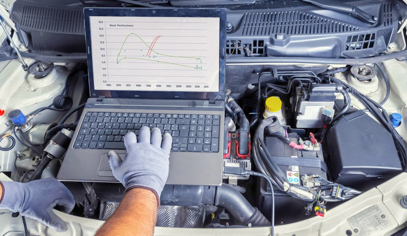 Диагностика и ремонт Ford